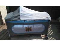 BABY TRAVEL COT OR BED