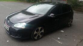 L@@k.. VW GOLF MK5 GTTDI 140BHP GTI CONVERSION BLACK XENON'S LEATHER SAT NAV DVD SWAP PX CONSIDERED