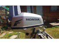 Honda BF5 longshaft 4 stroke outboard motor 5HP