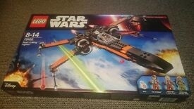 LEGO Star Wars Poe's X-Wing Fighter 75102 ** Brand new unopened **