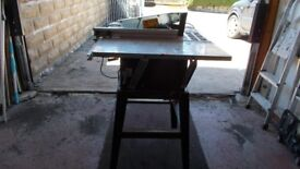 LARGE FREE STANDING ELECTRIC SAW