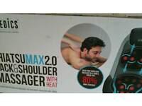 Shiatsu massager back and shouder with heat RRP £299