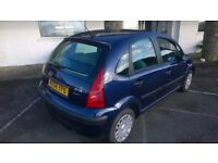Citroen C3 Desire 2004-54-plate, 1400cc petrol, only 105,000 miles, new mot upon purchase