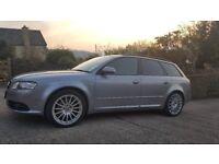 Audi A4 Avant 2.0, Avus Silver, manual, petrol, T FSI S-Line, leather interior, 1 owner.