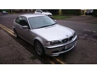 Silver BMW 325i m sport