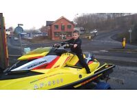 Jet ski sea doo rxpx 260 rs with trailer