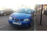 Seat ibiza 1.9 diesel 2003 great condition