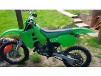 Kx 125 Spares or repairs