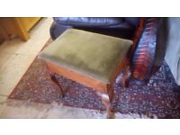 Lovely solid mahogany vintage piano stool £30 CHEAP local DELIVERY Stalybridge SK15 2QF