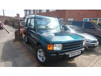 land rover discovery , been in a barn for many years started first time , ideal offroader £795