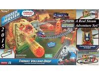 Thomas & Friends TrackMaster Volcano Drop Set Excellent Condition With Original Box