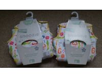Two Baby Sleeping Bags (Alphabet) 6-18 months