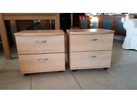 Two Matching Bedside units - EXCELLENT Condition