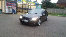 BMW 5.25 WHIT 3.0D M SPORT