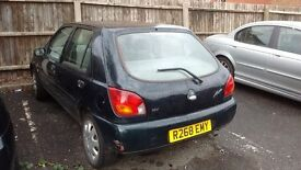 FORD FIESTA 1.3 GHIA GREEN 1998 BREAKING FOR PARTS