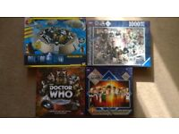 Doctor Who games and jigsaw puzzles