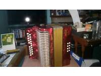 Hohner 3voice Accordion B/C Made in Germany