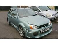 MODIFIED FORD FIESTA MK5, 1.3, ONE OFF SHOW CAR, LOADS OF EXTRA, ALLOYS WITH GOOD TYRES
