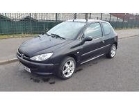 2004 Peugeot 206 1.1 Sport! 10M MOT! 50mpg! 57k! FSH! Cheap reliable bargain!