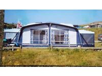caravan awning dorema with annexs