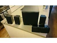 Yamaha Home cinema surround speaker package