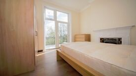 **2 BED GROUND FLOOR** LARGE PRIVATE BALCONY! PERIOD CONVERSION! FURNISHED! CROUCH END, HARINGEY, N4