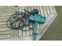 Garden or camping extention cable