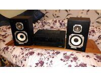 Sherwood Amp/Marantz Speakers
