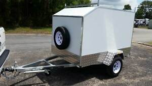 NEW 8 x 5 ENCLOSED BOX TRAILER ALUMINIUM SHEETING 750kg $65PW FIN Noosa Heads Noosa Area Preview