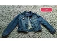 Bluezoo denim jacket age 9 years