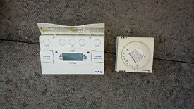 Drayton Lifestyle LP241 24 Hour Electronic Programmer Timeswitch and Drayton RTS1 Room Thermostat