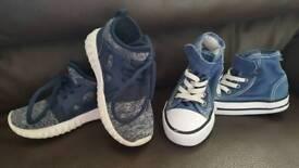 Boys infant trainers size 7.5uk