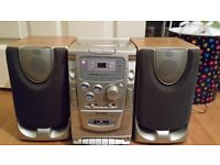 Mini stereo with speakers