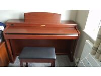 Kawai CN42 Digital Piano and Footstool in Mahogany