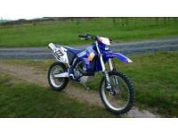 Yamaha wr250f enduro road registered