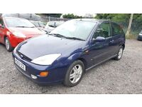 Ford Focus 1.8 i 16v Zetec 3dr, HPI CLEAR, GOOD CONDITION, LONG MOT, P/X TO CLEAR, MUST SEE