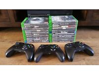 Xbox one 3 controllers 21 games