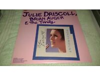 JULIE DRISCOLL,BRIAN AUGTER AND THE TRINITY-RARE VINYL ALBUM