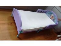 Frozen Toddler bed and mattress