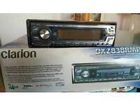 In Car Audio. Clarion DXZ838RMP