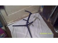 TENOR SAXOPHONE STAND ( FOLDING ) VERY STRONG CONSTRUCTION in BLACK ENAMEL ++++++++++++