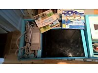 Nintendo Wii games consol complete with some games