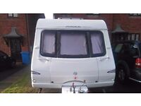Swift charisma 555 fixed bed 2005