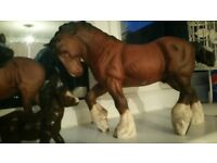 royal doulton on shire horse