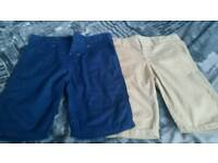 2 pairs of boys shorts age 10 - 11 yrs