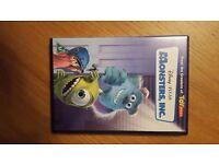 Set of 5 Pixar animated DVD'S