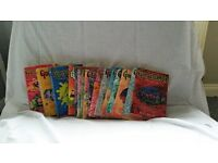 Collection of Goosebumps books