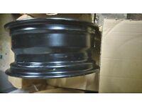Skoda steel wheels