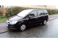 2006 06 VAUXHALL ZAFIRA 1.6 PETROL 7 SEATER MOT MAY 2018 IMMACULATE THROUGHOUT £795