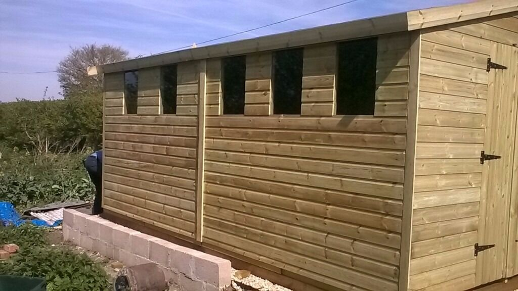 garden sheds sale now on any size or spec deliver nationwide free installation - Garden Sheds Gumtree